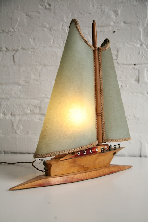 1930s Boat Table Lamp 3