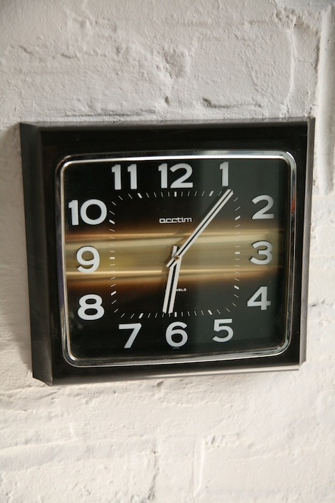 1970s Acctim Wall Clock1