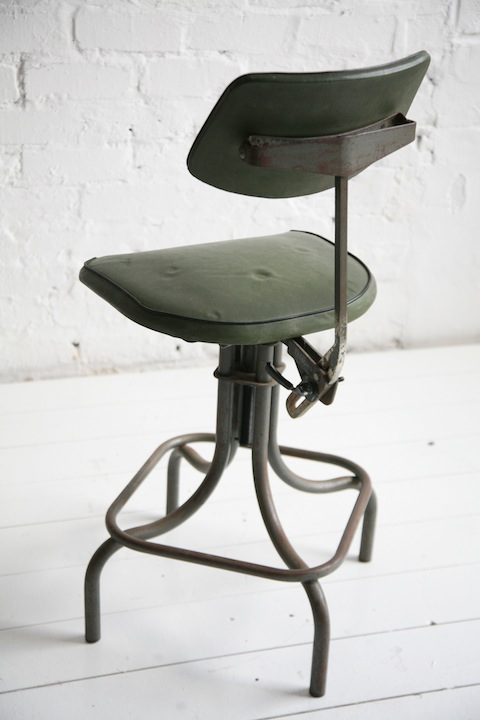 Industrial Stool by Leabank