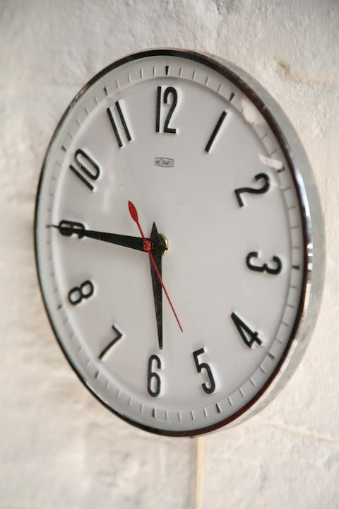 Metamec 1960s Wall Clock