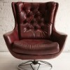Red 1960s Swivel Chair3