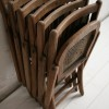 Set of 6 Vintage Folding Chairs 2