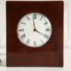 Vintage Mahogany Chiming Mantle Clock