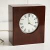 Vintage Mahogany Chiming Mantle Clock1