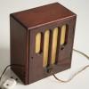 Vintage Mahogany Chiming Mantle Clock2