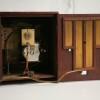 Vintage Mahogany Chiming Mantle Clock3