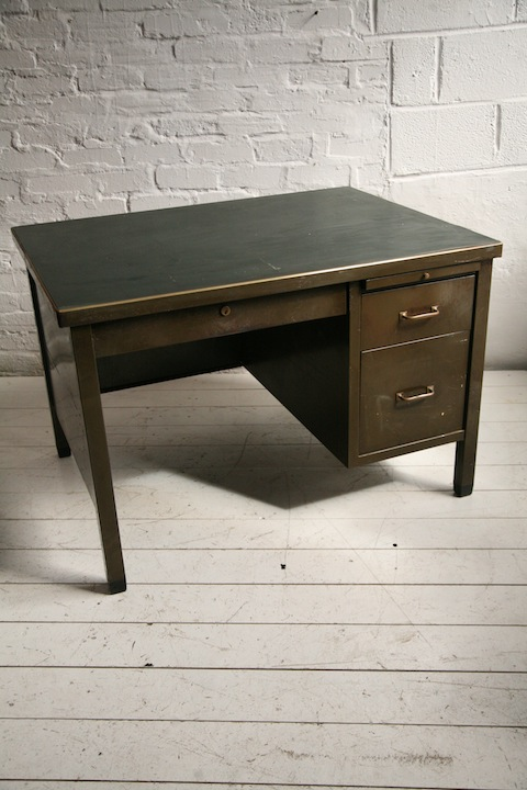 Vintage Steel Desk 2