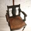 Vintage Victorian Barbers Chair1