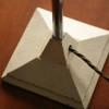 1940s Cream Desk Lamp 2