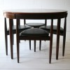 1950s Dining Table and Chairs by Hans Olsen for Frem Rojle
