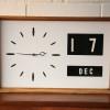 1960s Date Wall Clock 1