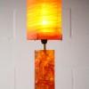 1960s Shatterline Resin Table Lamp