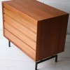 Danish Teak Chest of Drawers 2