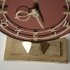 1950s Smiths Glass Mantle Clock1