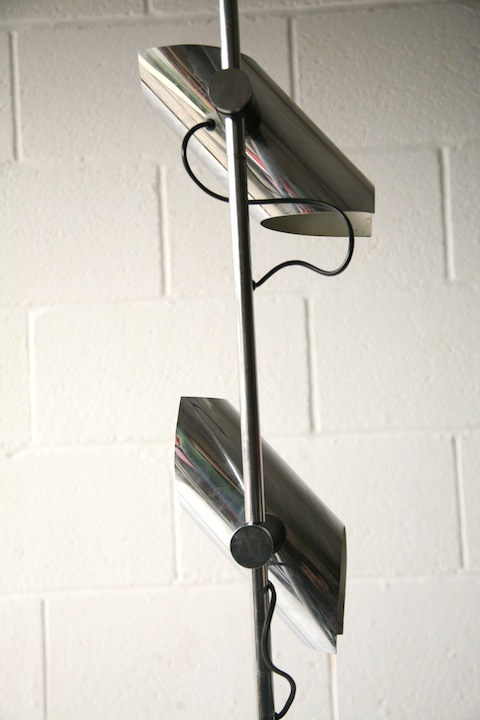 1970s Chrome Floor Lamp