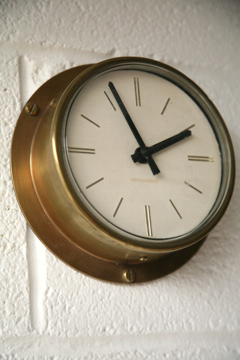 Brass Westclox Wall Clock