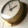 Brass Westclox Wall Clock1