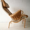 Bruno Mathesson Pernilla Chair in Beige Leather 1