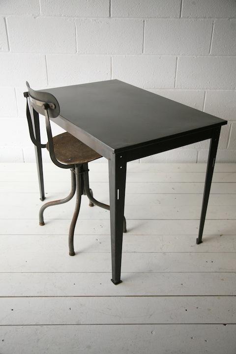 Industrial Metal Table Desk2