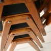 Set of 4 Stacking Chairs 2