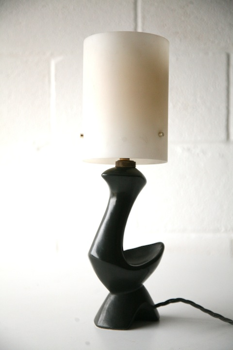 1950s French Abstract Lamp