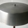 1960s Aluminium Rosewood Table Lamp 2