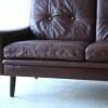 1960s Danish Leather Sofa 4