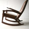 1960s Leather Rocking Chair1