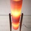1960s Pink Rocket Lamp2