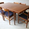 1960s Teak Dining Table and 6 Chairs by Dalescraft1