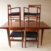 1960s Teak Dining Table and 6 Chairs by Dalescraft3