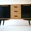 1930s Maple Veneer Sideboard by Asko Finland 1