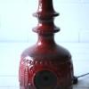 1960s Ceramic West German Floor Lamp by Bay2