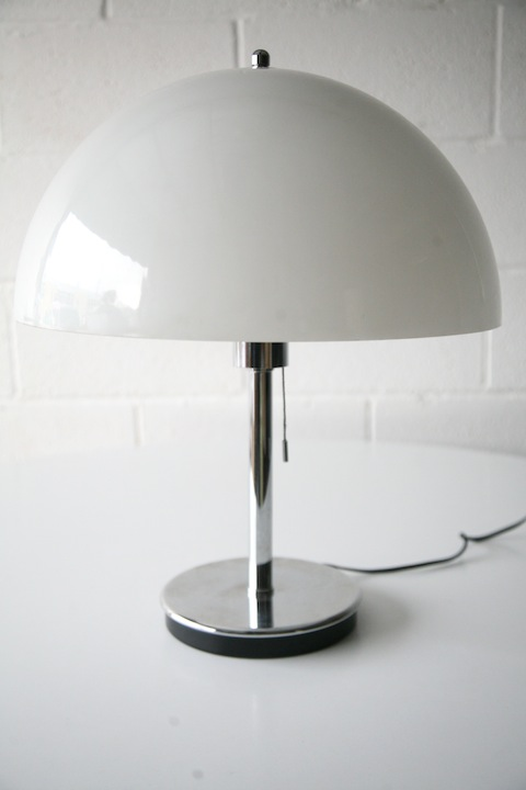 1970s Mushroom Lamp