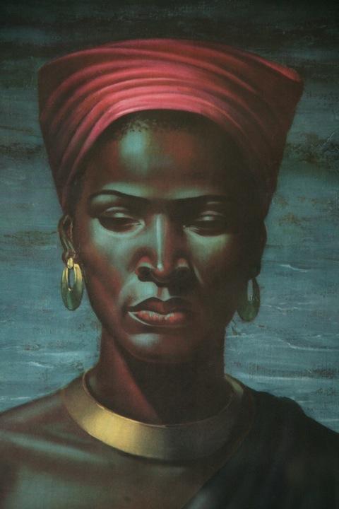 Tretchikoff Zulu Girl Print