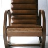 1930s Leather Slipper Chair2