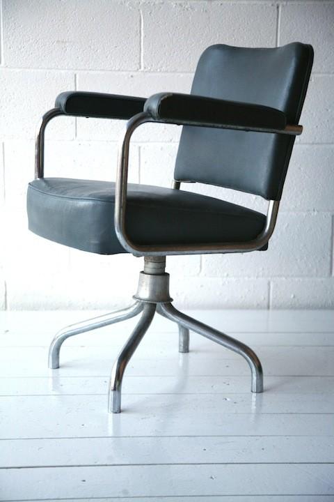 1950s Industrial Desk Chair2