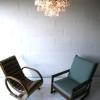1960s Chrome Glass Ceiling Light by Kinkeldey Germany3