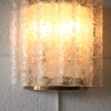 1960s Large Glass Wall Lights by Doria German 2