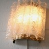 1960s Large Glass Wall Lights by Doria German 3