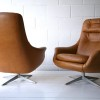 1960s Swivel Chairs Made in Sweden 2