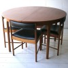 1960s Teak Dining Table and 4 Chairs by Mcintosh Scotland