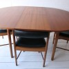 1960s Teak Dining Table and 4 Chairs by Mcintosh Scotland2