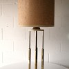 1970s Large Marble Brass Table Lamp2