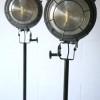 Pair of Industrial Floor Lamps1