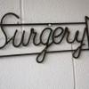 VIntage Surgery Sign1