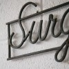 VIntage Surgery Sign2