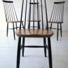 Vintage High Backed Dining Chairs by by Ilmari Tapiovaara 1