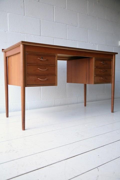 1960s Teak Desk 1