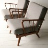 Pair of Grey 1950s Chairs